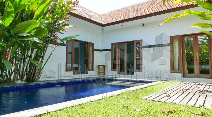 MInimalist 2 Bedrooms Villa in Sanur